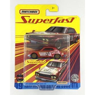 Matchbox 1:64 Super Fast  - 1971 Nissan Skyline 2000 GTX