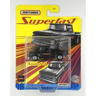 Matchbox 1:64 Super Fast  - 1963 Chevy C10 Pickup