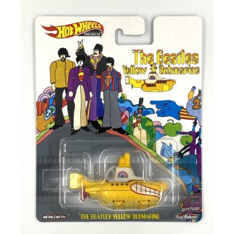 Hot Wheels 1:64 Retro Entertainment - The Beatles Yellow Submarine