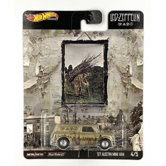 Hot Wheels 1:64 Pop Culture Led Zeppelin - '67 Austin Mini Van