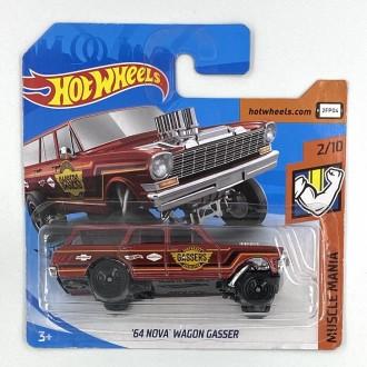 Hot Wheels 1:64 '64 Nova Wagon Gasser