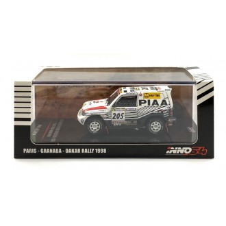 Inno64 1:64 Mitsubishi Pajero Evolution nr205 Paris-Dakar 1998