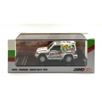 Inno64 1:64 Mitsubishi Pajero Evolution nr204 Paris-Dakar 1998