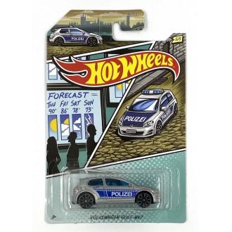 Hot Wheels 1:64 Automotive Themed - Volkswagen Golf MK7 Police