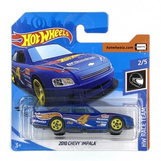 Hot Wheels 1:64 2010 Chevy Impala Blue