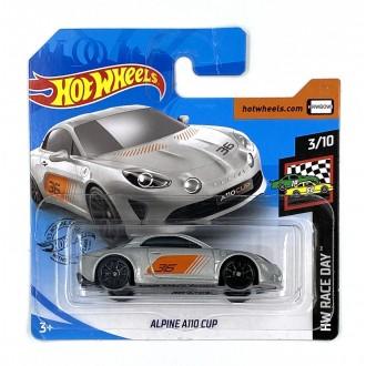Hot Wheels 1:64 Alpine A110 Cup Silver