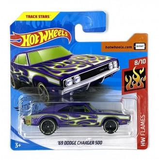 Hot Wheels 1:64 '69 Dodge Charger 500 Violet