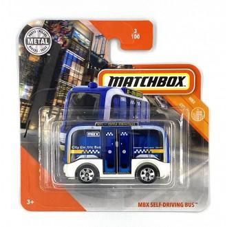Matchbox 1:64 MBX Self-Driving Bus