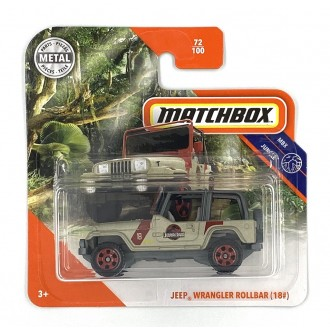Matchbox 1:64 Jeep Wrangler...