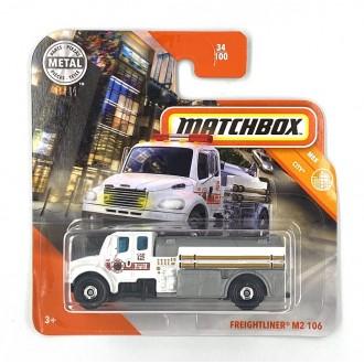 Matchbox 1:64 Freightliner M2 106 White