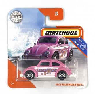 Matchbox 1:64 1962 Volkswagen Beetle Pink