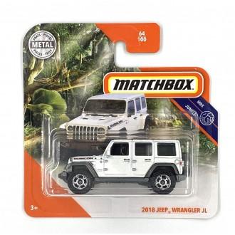 Matchbox 1:64 2018 Jeep Wrangler JL