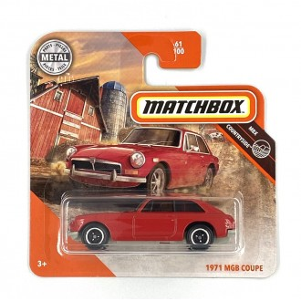 Matchbox 1:64 1971 MGB Coupe