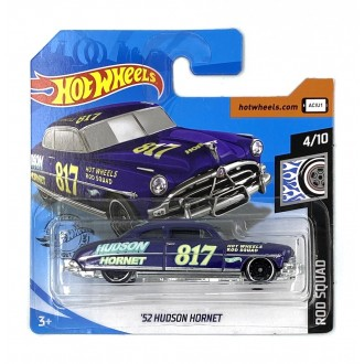 Hot Wheels 1:64 '52 Hudson Hornet Purple