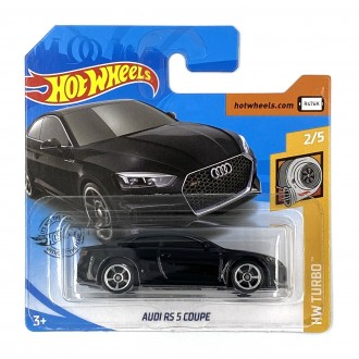 Hot Wheels 1:64 Audi RS5 Coupe Black
