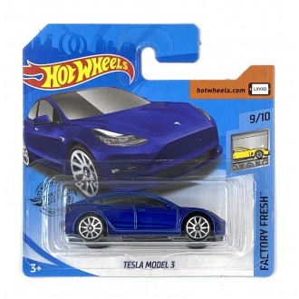 Hot Wheels 1:64 Tesla Model 3