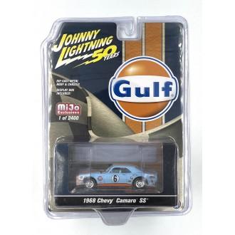 Johnny Lightning 1:64 Gulf - 1968 Chevy Camaro SS
