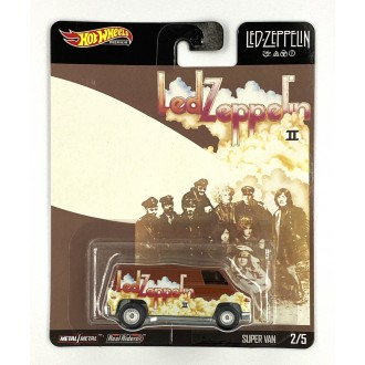 Hot Wheels 1:64 Pop Culture Led Zeppelin - Super Van