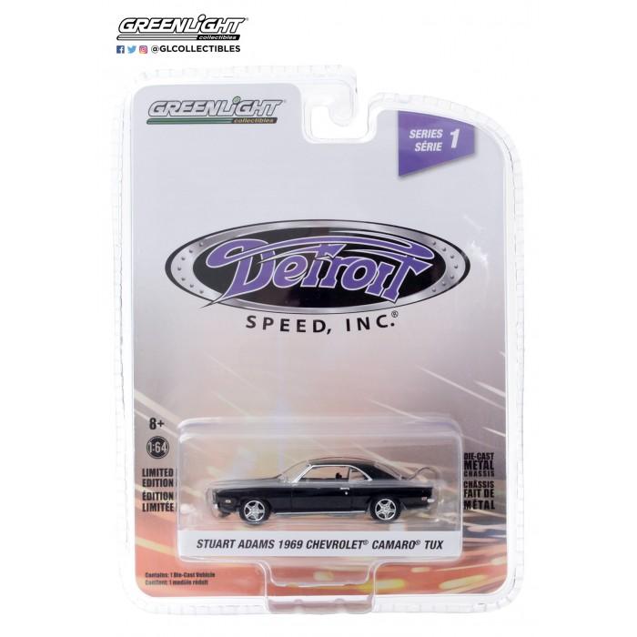 Greenlight 1:64 Detroit Speed - 1969 Chevrolet Camaro TUX Stuart Adams