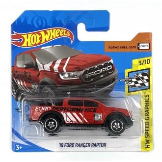 Hot Wheels 1:64 '19 Ford Ranger Raptor Red