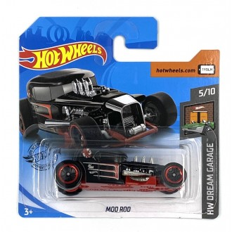 Hot Wheels 1:64 Mod Rod Black