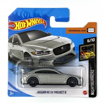 Hot Wheels 1:64 Jaguar XE SV Project 8