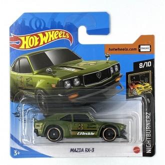 Hot Wheels 1:64 Mazda RX-3 Green GReddy