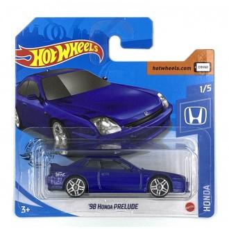 Hot Wheels 1:64 '98 Honda Prelude Purple