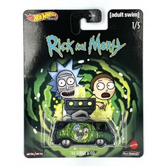 Hot Wheels 1:64 Pop Culture - Rick and Morty - '66 Dodge A100