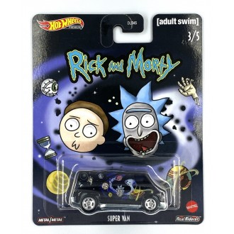 Hot Wheels 1:64 Pop Culture - Rick and Morty - Super Van