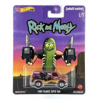 Hot Wheels 1:64 Pop Culture - Rick and Morty - Ford Transit Super Van