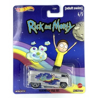 Hot Wheels 1:64 Pop Culture - Rick and Morty - Volkswagen Drag Bus