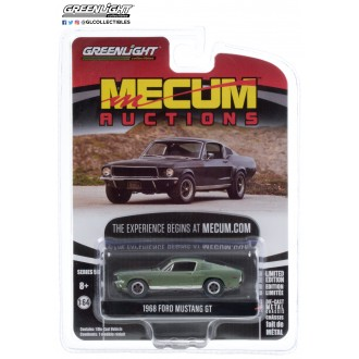 Greenlight 1:64 Mecum Auctions - 1968 Ford Mustang GT