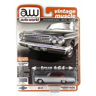 Auto World 1:64 1962 Chevy Impala SS 409 Convertible