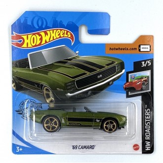 Hot Wheels 1:64 '69 Camaro
