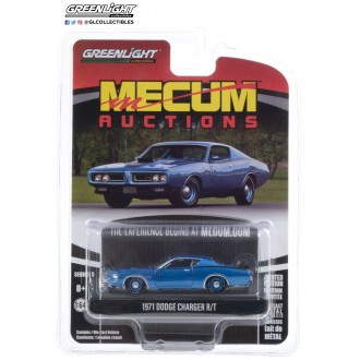 Greenlight 1:64 Mecum Auctions - 1971 Dodge Charger R/T