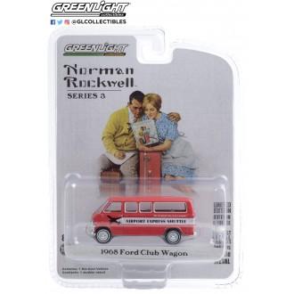 Greenlight 1:64 Norman Rockwell - 1968 Ford Club Wagon