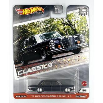 Hot Wheels 1:64 Modern Classic - '72 Mercedes-Benz  280 SEL 4.5