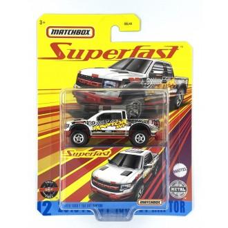 Matchbox 1:64 Super Fast - 2010 Ford F-150 Raptor SVT