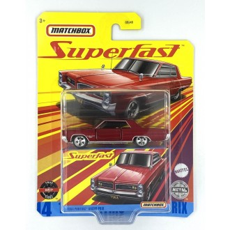 Matchbox 1:64 Super Fast - 1964 Pontiac Grand Prix