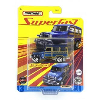 Matchbox 1:64 Super Fast - 1962 Willys Jeep Wagon