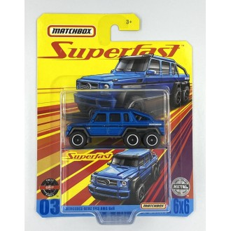 Matchbox 1:64 Super Fast  - Mercedes-Benz G63 AMG 6x6