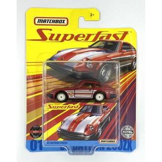 Matchbox 1:64 Super Fast  - '62 Datsun 280 ZX