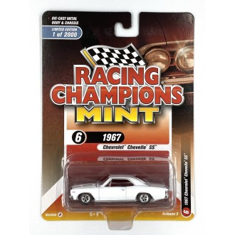 Racing Champions 1:64 1967 Chevrolet Chevelle SS White