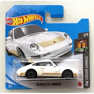 Hot Wheels 1:64 '96 Porsche Carrera White