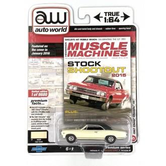 Auto World 1:64 1970 Chevrolet Chevelle SS Cream
