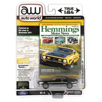 Auto World 1:64 1971 Ford Mustang Boss 351 Dk Green