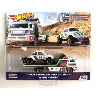 Hot Wheels 1:64 Team Transport - Volkswagen Baja Bug Wide Open