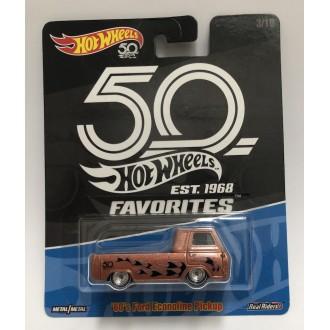 Hot Wheels 1:64 Favorites - '60's Ford Econoline Pickup