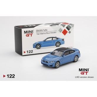 Mini GT 1:64 BMW M4 Blue Metallic LHD